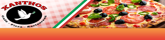 Xanthos Pizza & Cafe Bundbanner